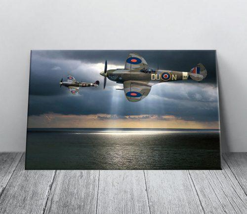 spitfire canvas art