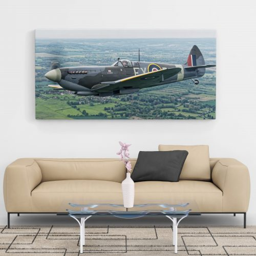 XL Spitfire Canvas on Wall